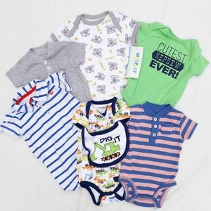 Lot of 6 3M Baby Boy Outfits